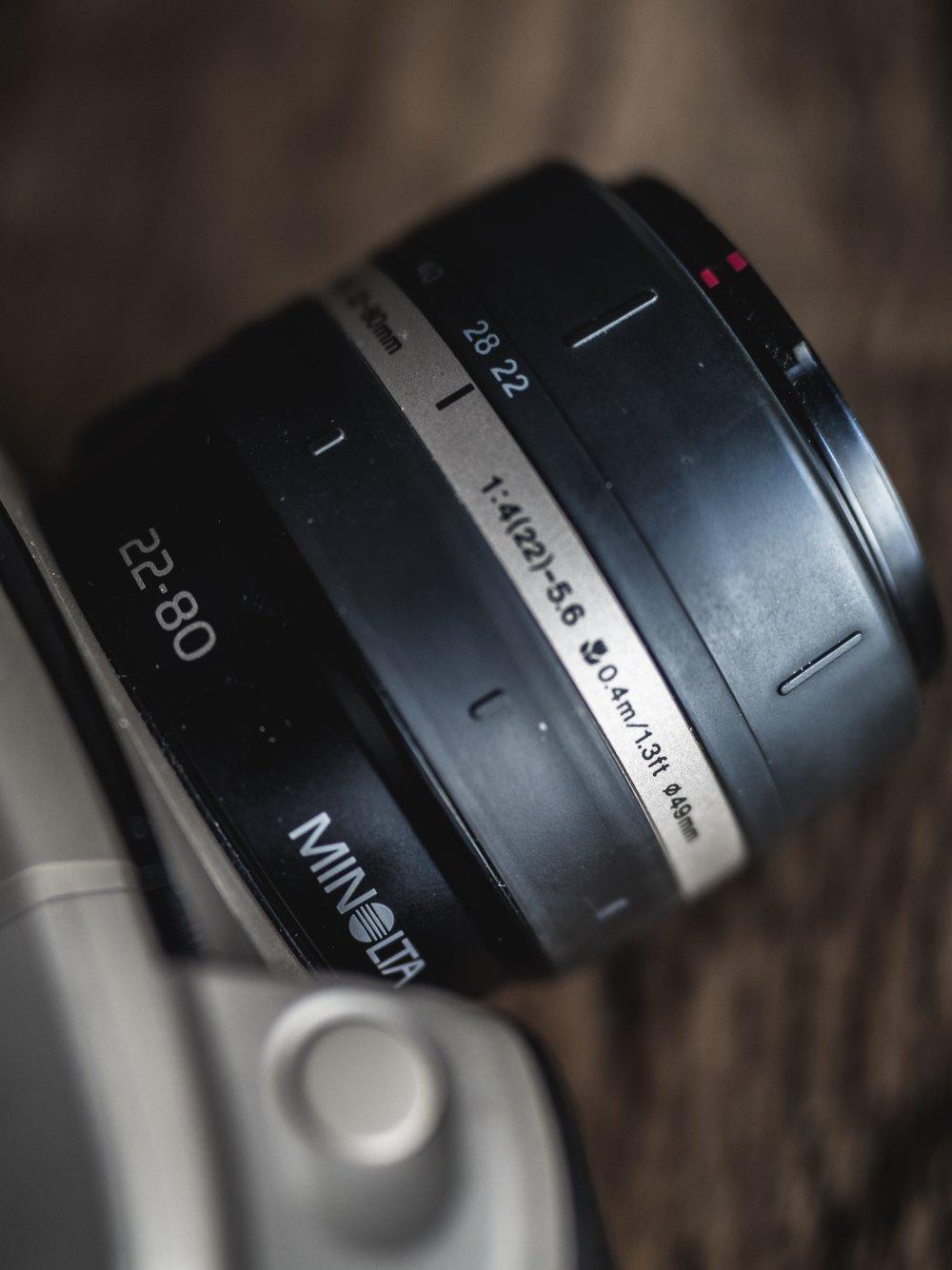 Minolta Vectis S-1 APS Advanced Photo System Advantix Film Camera Review 1996