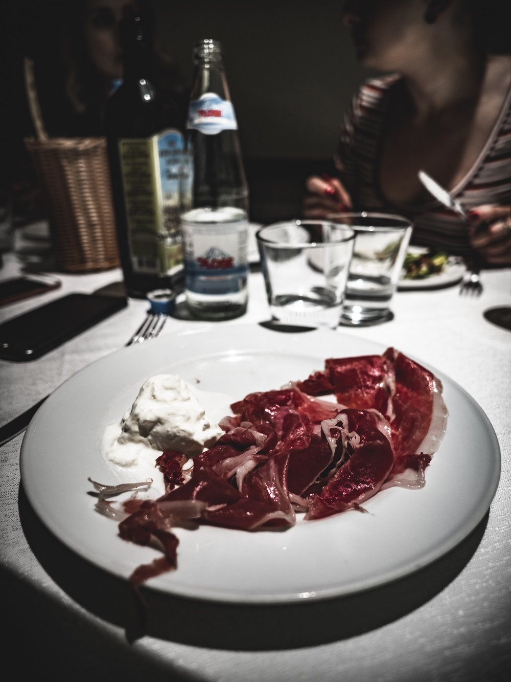 Carnivore Diet Zero Carb Diary Milan Italy Cured Meat Cheese Mozzarella Travel
