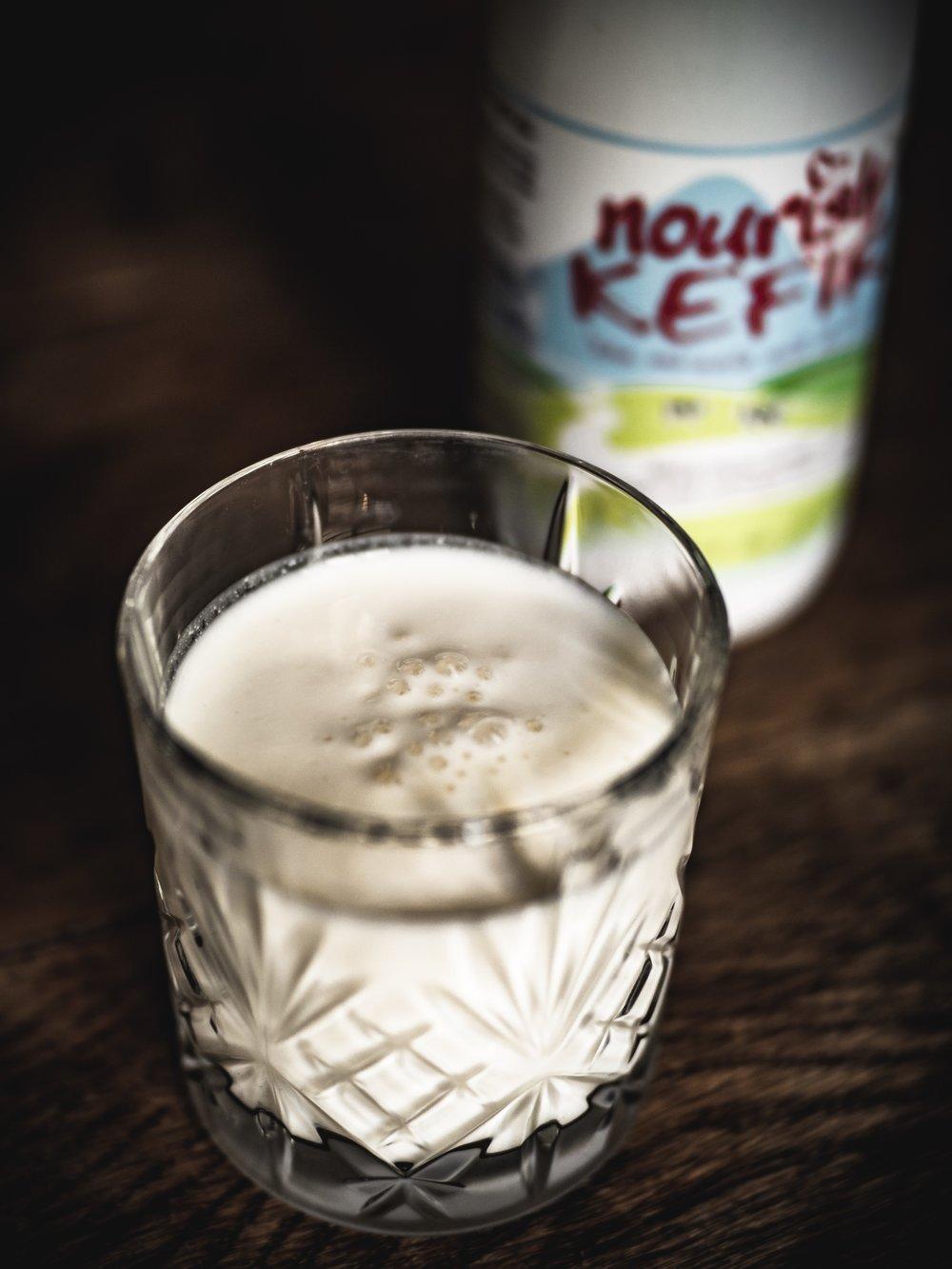 My first time drinking Kefir