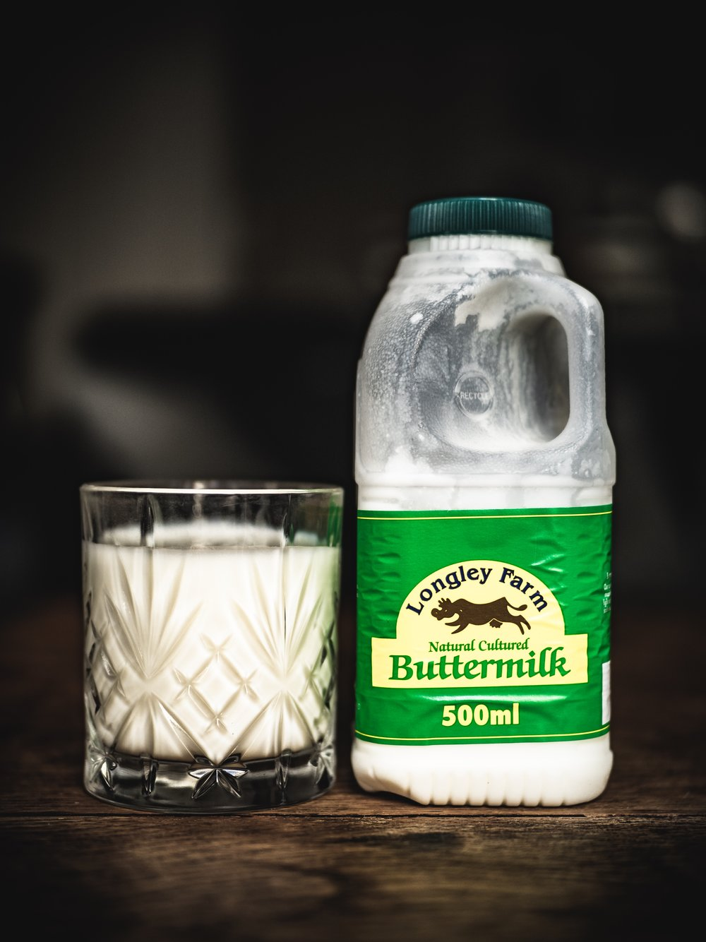 My first time drinking Buttermilk