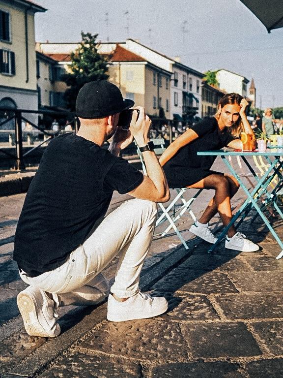 Apple Watch Series 2 Jay McLaughlin Photoshoot Milan Model Golden Hour