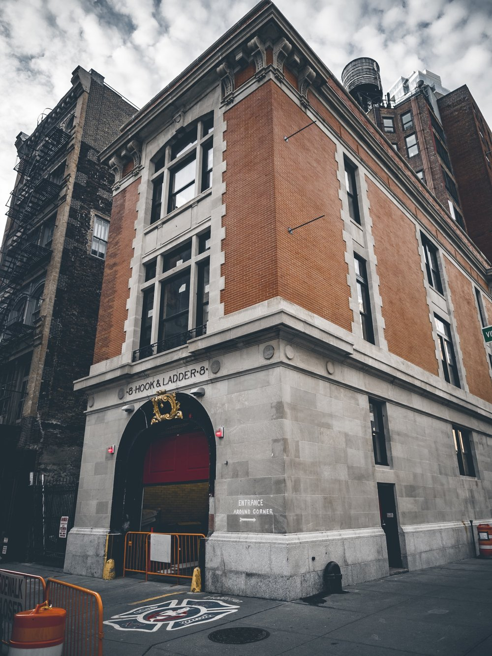 Hook & Ladder 8 NYC New York City Ghostbusters Firestation Firehouse Jay McLaughlin Childhood Nostalgia Movie Location