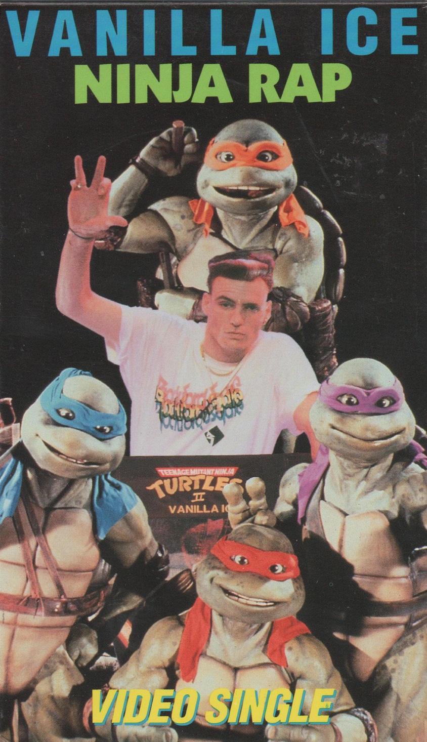 Teenage Mutant Ninja Turtles 2014 Movie Review TMNT Original Movie Soundtrack Vanilla Ice Ninja Rap