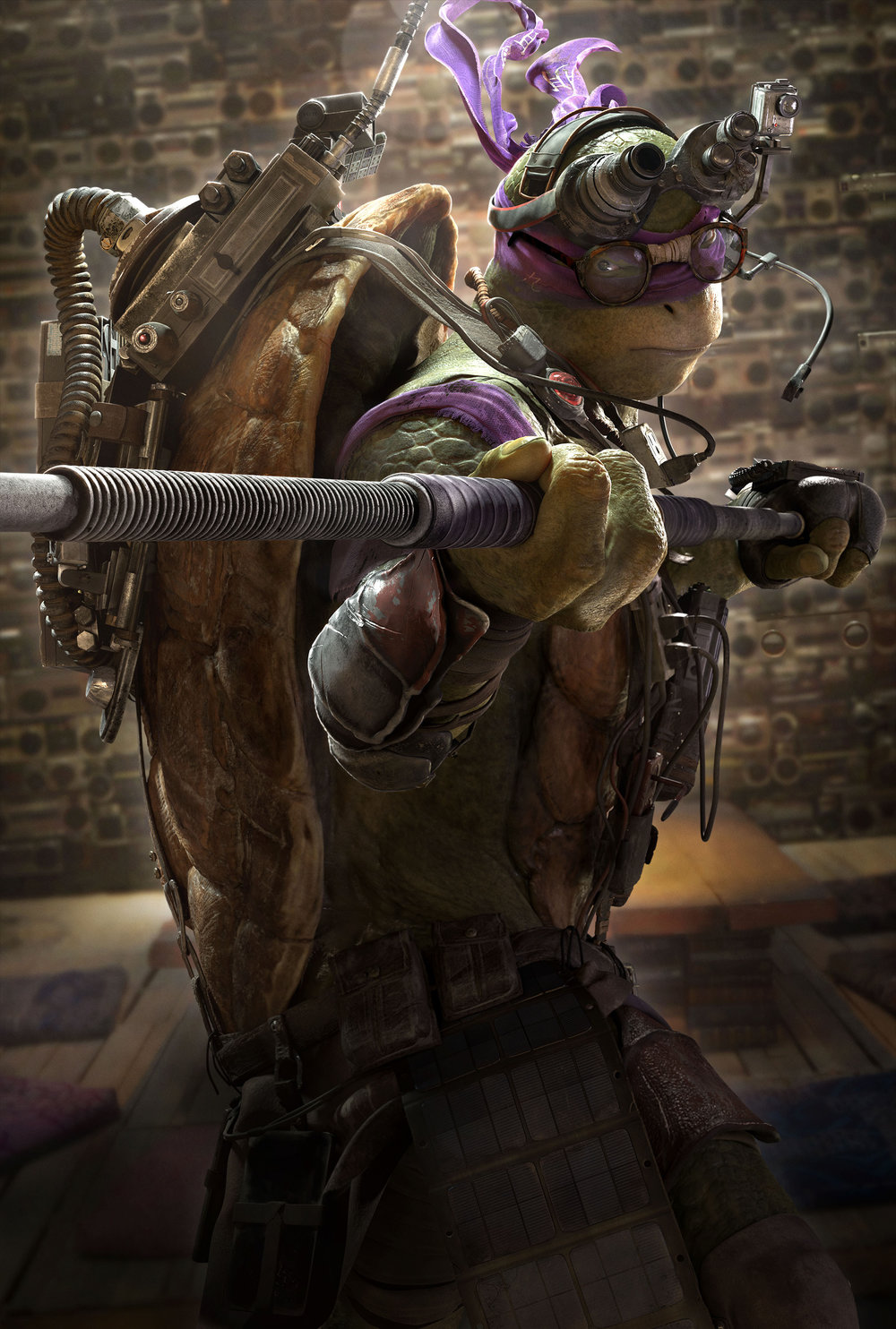 Teenage Mutant Ninja Turtles 2014 Movie Review TMNT Donatello