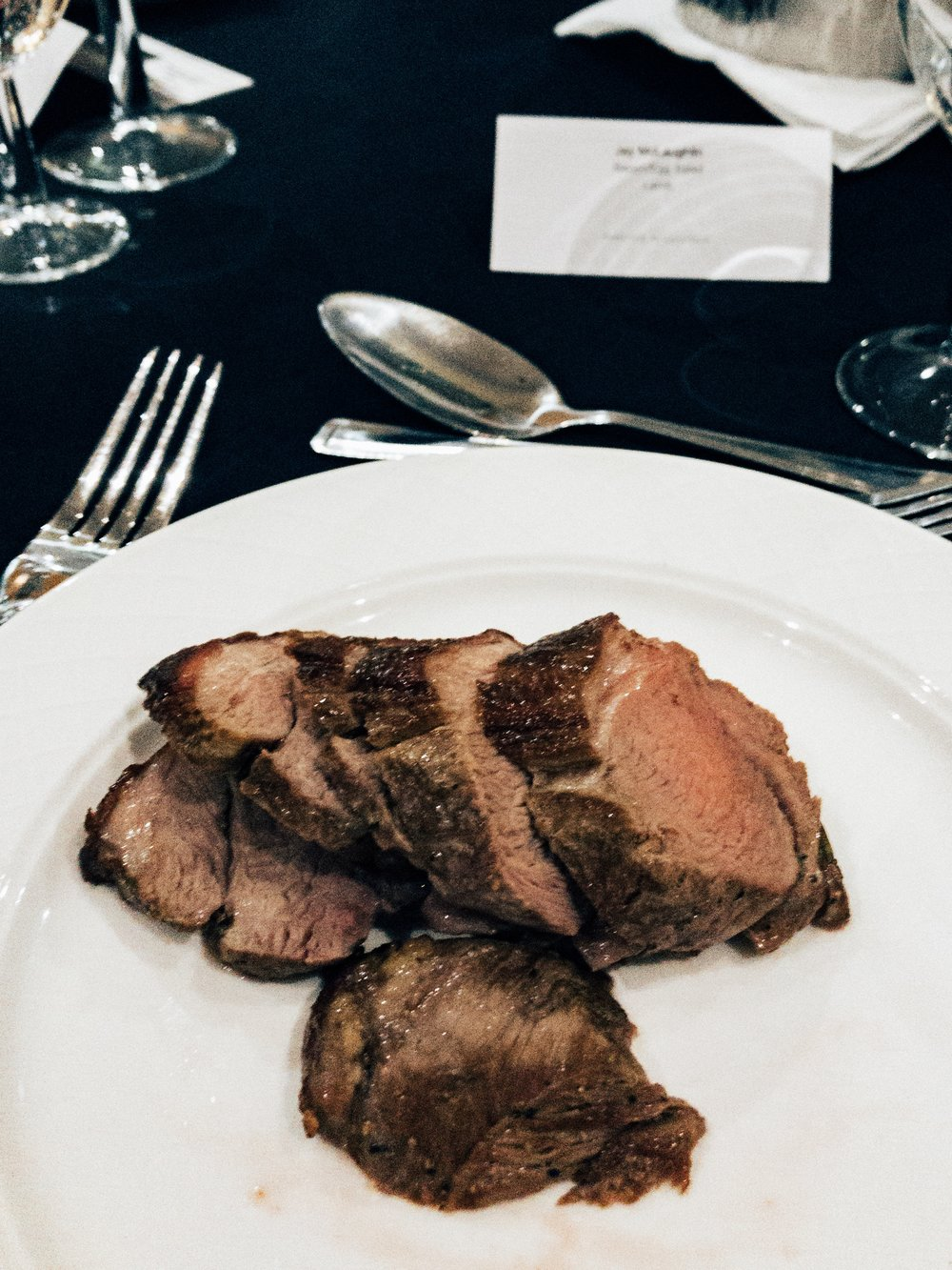 People's reactions to the carnivore diet Jessops Conference Gala Dinner Zero Carb Protein Only No Carbs Starch Lamb