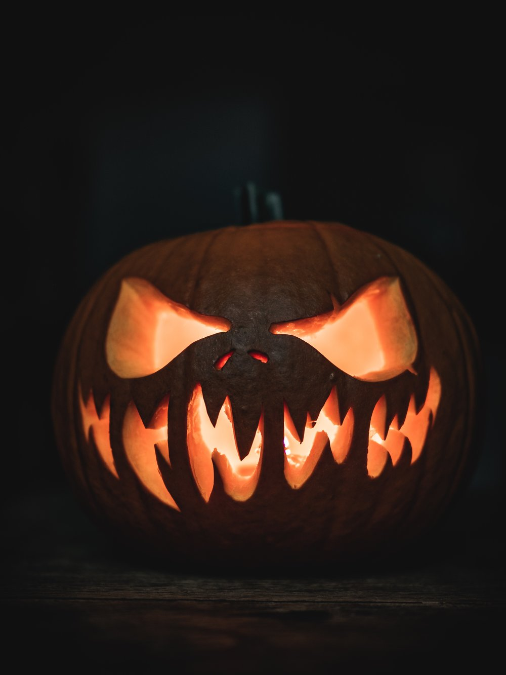 Halloween Pumpkin Carving Jack-o-Lantern Art Craft Creativity Scary