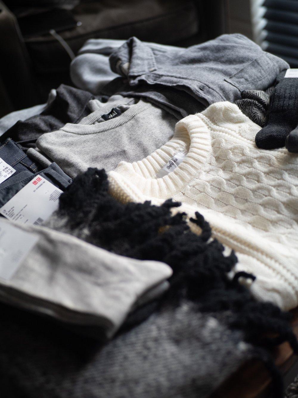Jay McLaughlin Style Fashion Menswear Capsule Wardrobe Monochrome