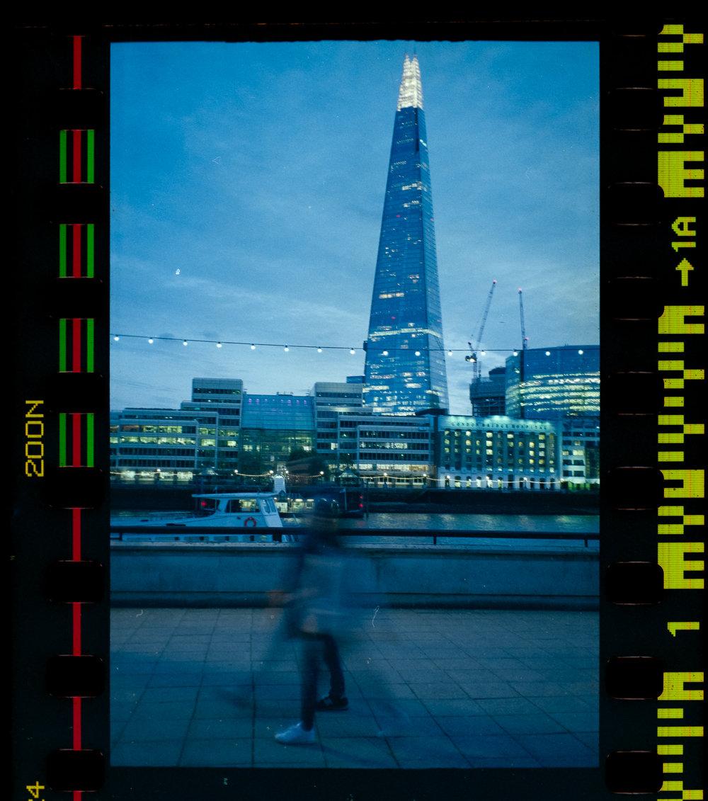 Olympus AZ-1 Zoom 35mm Vintage Film Camera Review Jay McLaughlin Agfa Vista Expired Shard