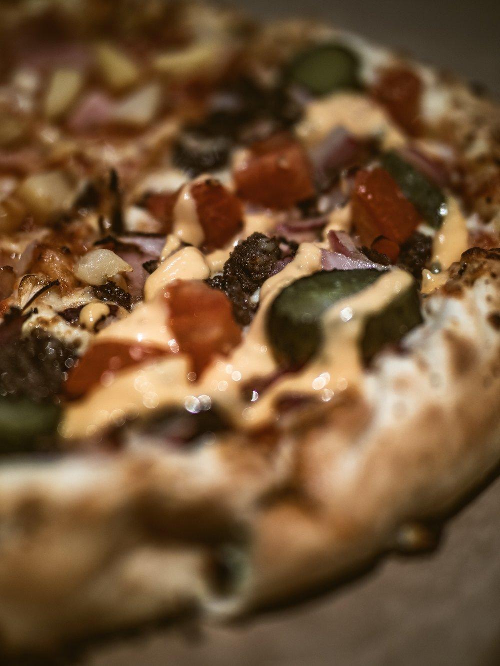 Christmas Carnivore Diet Break Carbohydrate binge Dominoes Cheeseburger Pizza