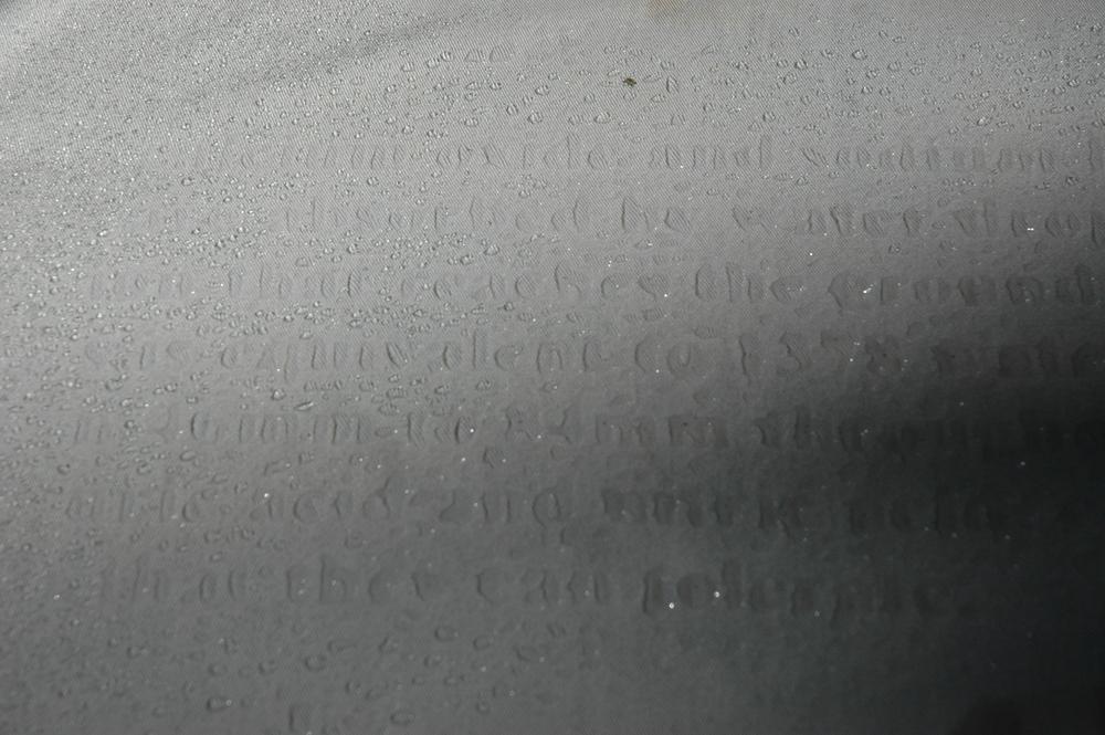 Rain Poetry Prototype
