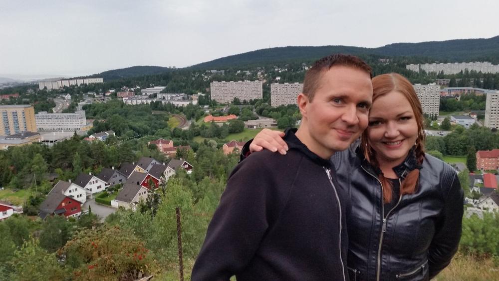 Herr og Fru Bollekinn i Groruddalen.
