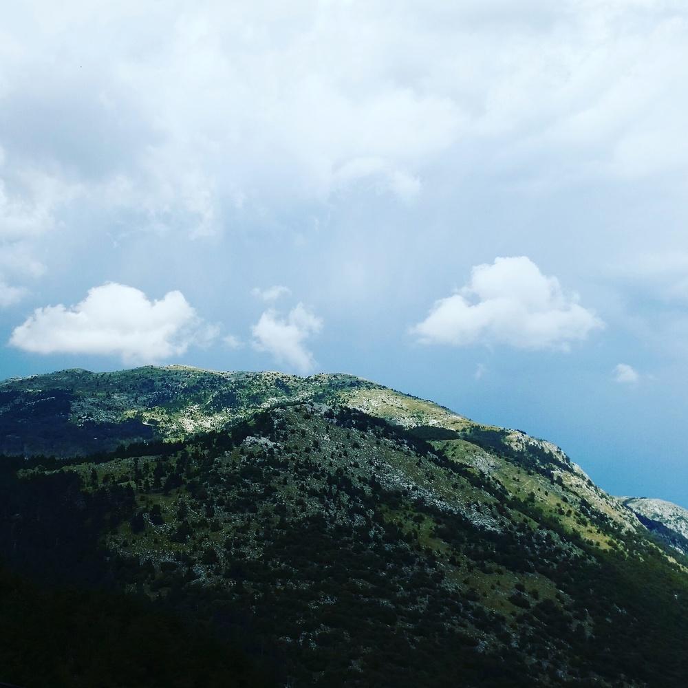 Utsikt fra fottur.