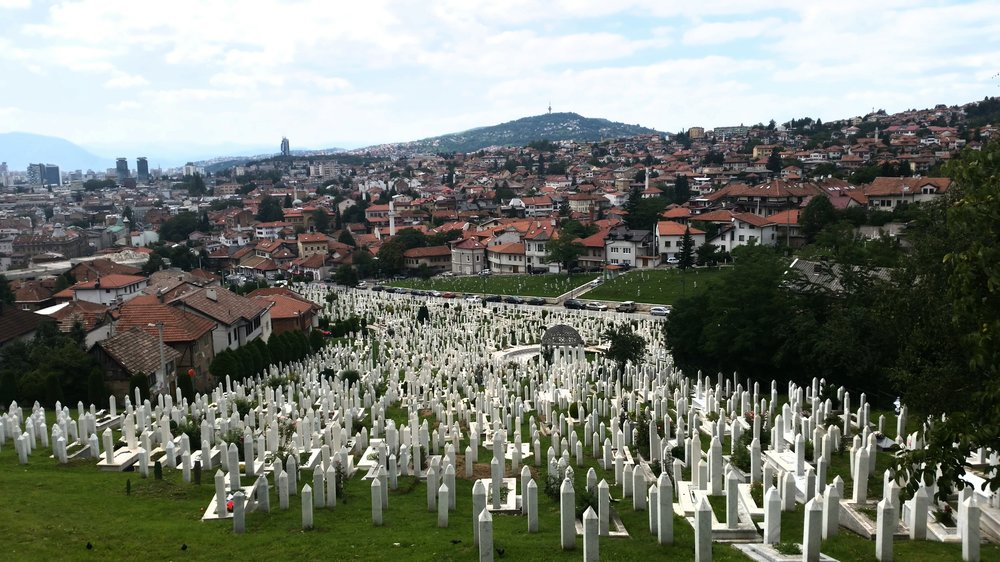 Utsnitt fra Sarajevo