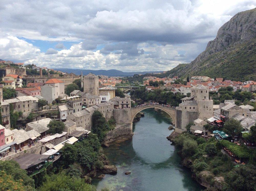 Gamlebyen i Mostar