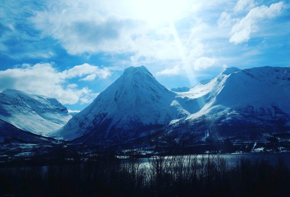 Ryggraden min, også kalt Russetinn i Balsfjord.