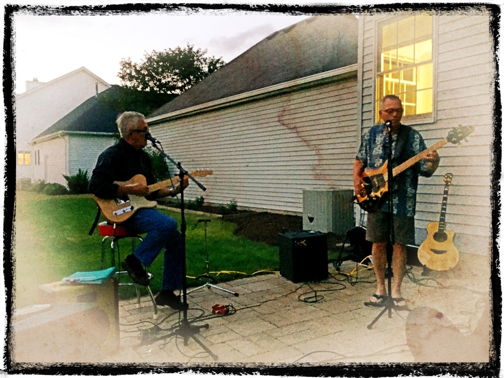 The Bee Sharp Blues Band plays a show in Avon Lake, July 1, 2016