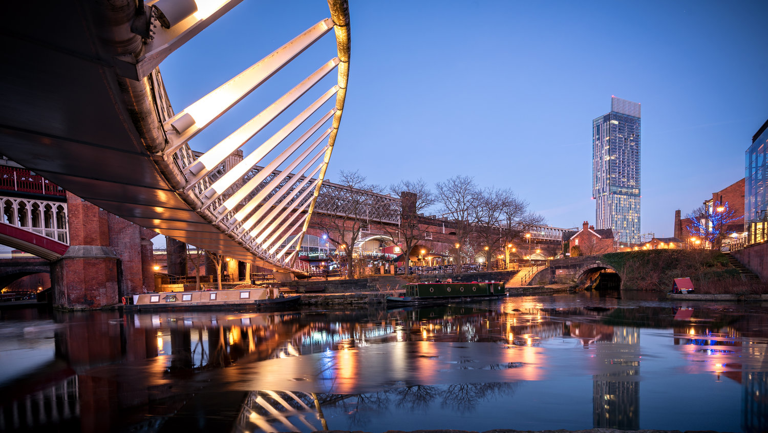 Castlefield - an inner city conservation area of Manchester