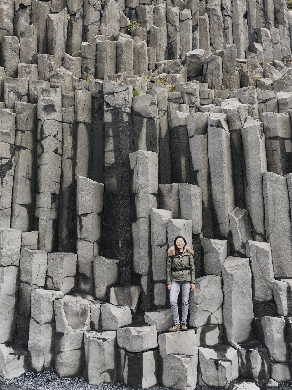 Day 3: Basalt columns created from cooling lava. Tons of people here trying to get their Instagram photos in.