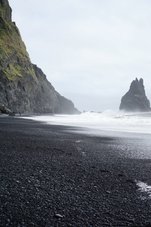 Day 3: The black sand beaches at Vik.