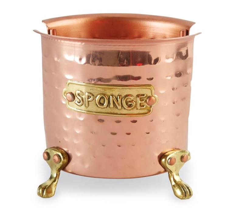 Copper Sponge Caddy $13.98