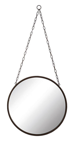 """14"""" Round Metal Mirror $34.98"""