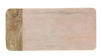 Pink Marble & Mango Wood Board $29.98