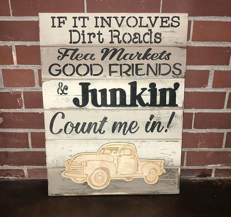 If It Involves Dirt Roads Sign $39.95