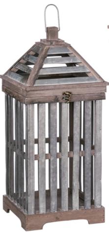 Sm Crate Lantern $64.98
