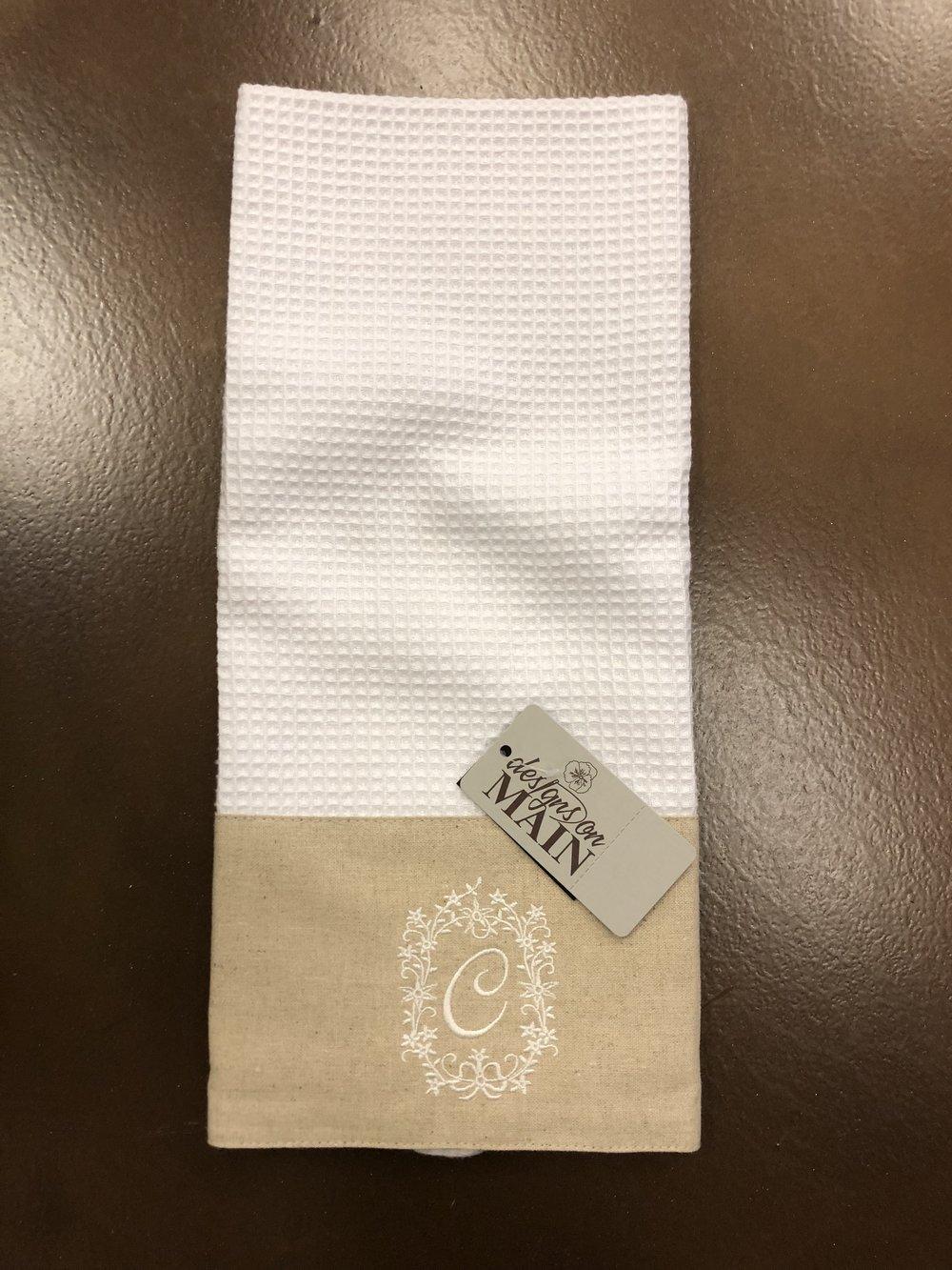 Linen & Cotton Towel-C $8.95
