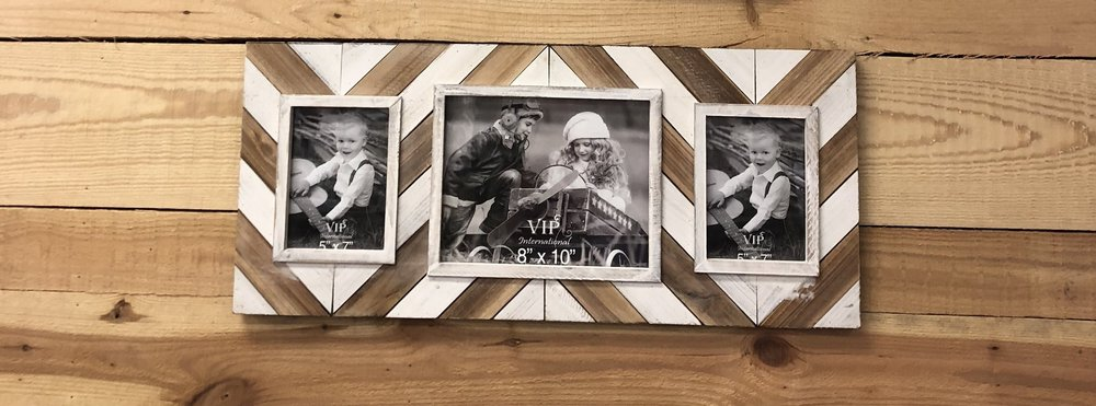 Wd Frame Triple Chevron $58.95