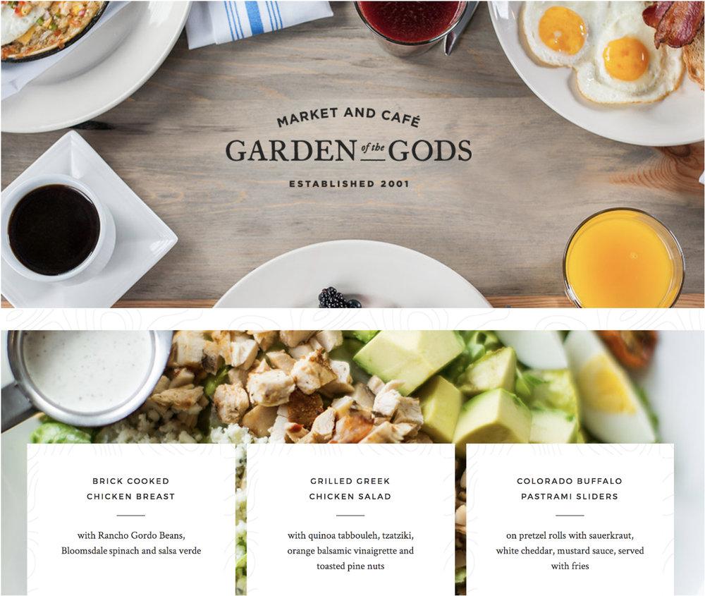 Gods Gourmet WEbsite