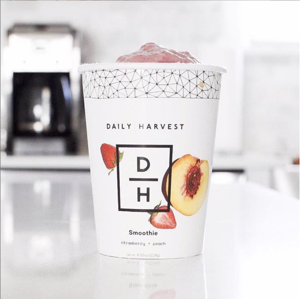 Daily Harvest Smoothies - use code RE-42LRGYY for three free cups