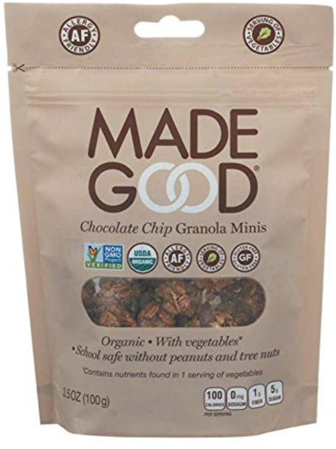 Made Good Granola Minis - Chocolate Chip