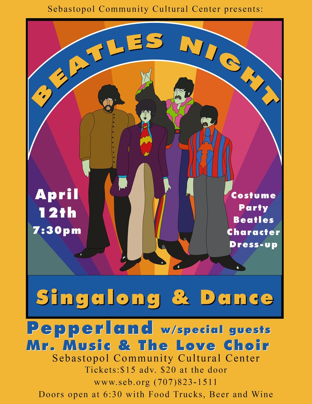 Pepperland and Friends w/ Mr. Music & Love Choir