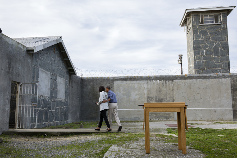 President Barack Obama and First Lady Michelle Obama, visit Robben Island, South Africa 2013