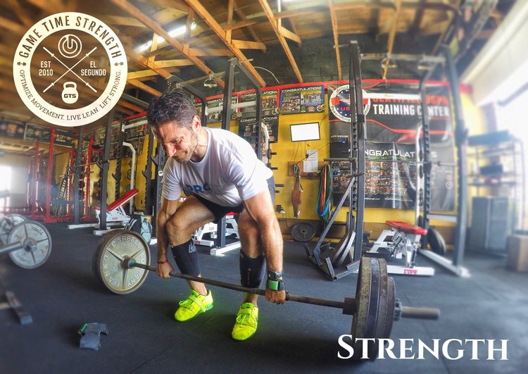 Strength - Customized Barbell Training, Coaching, Online