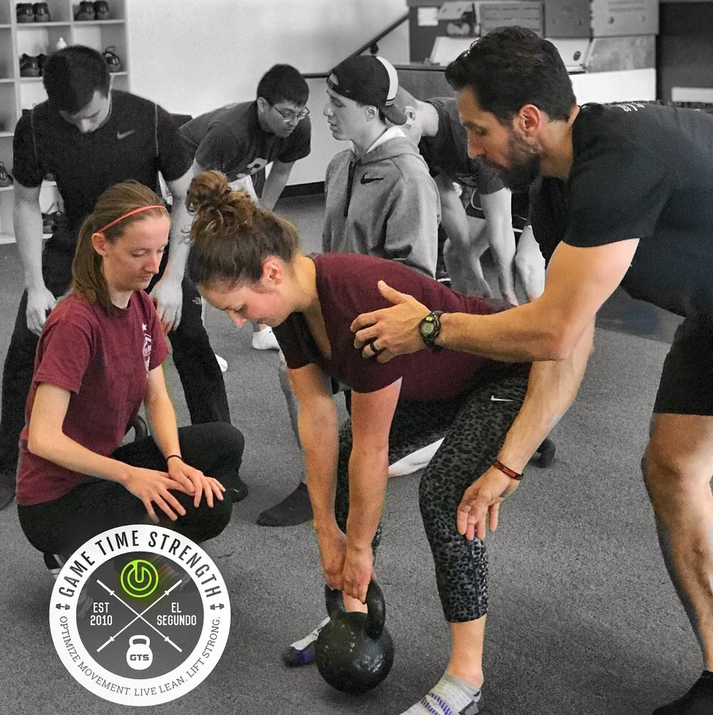 KB Deadlift - GTS Game Time Strength - Barbell Strength Workshop - Physical Therapy - Reno Nevada - Rehab Strength Performance Los Angeles Coach.JPG