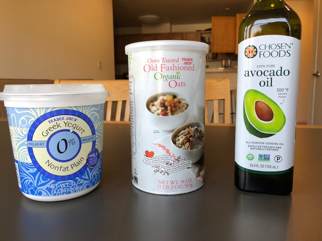 Note: the above photo contains 0% UNFLAVORED Greek Yogurt.