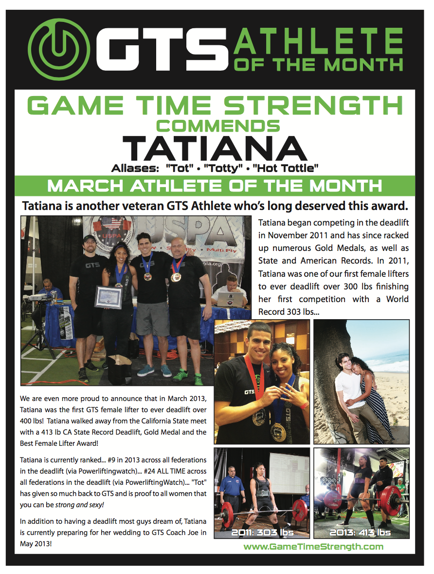 Tatiana GTS Athlete of Month Flashback.png