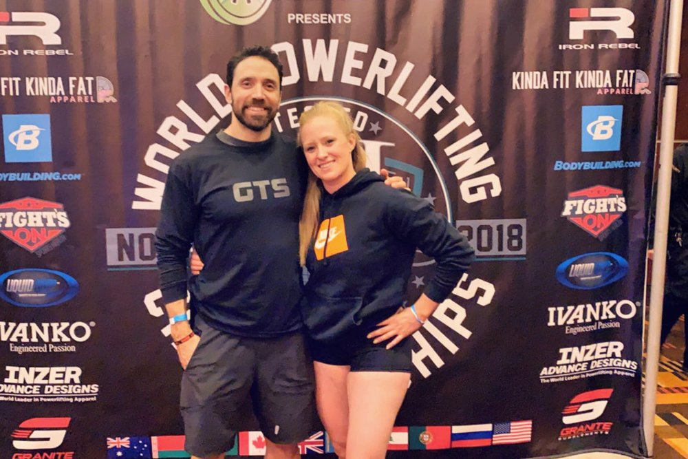 Coach Jason and Leah at IPL Worlds