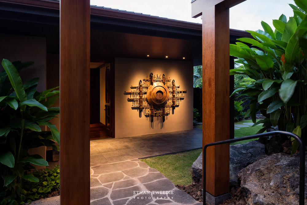 Private Entry with Hashimoto Design Art