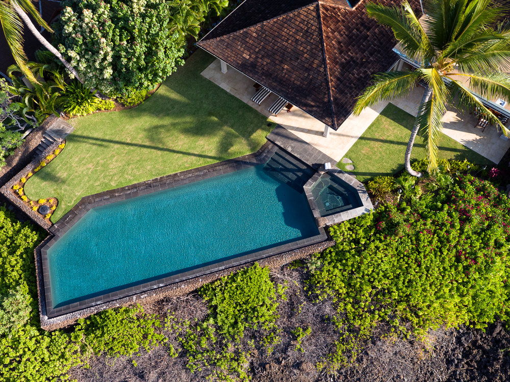 Private Home at Hualalai Resort, Four Seasons Hualalai Aerial
