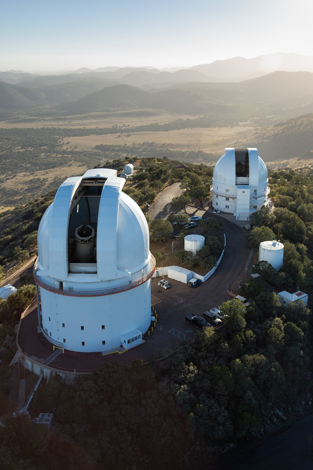 McDonald Observatory Aerial for University of Texas at Austin