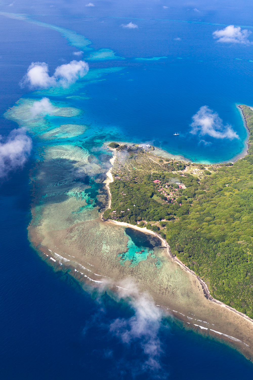 Wakaya Island, Fiji Aerial Photography