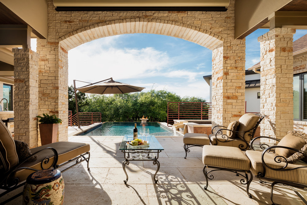 Outdoor Living in Central Texas at its best.