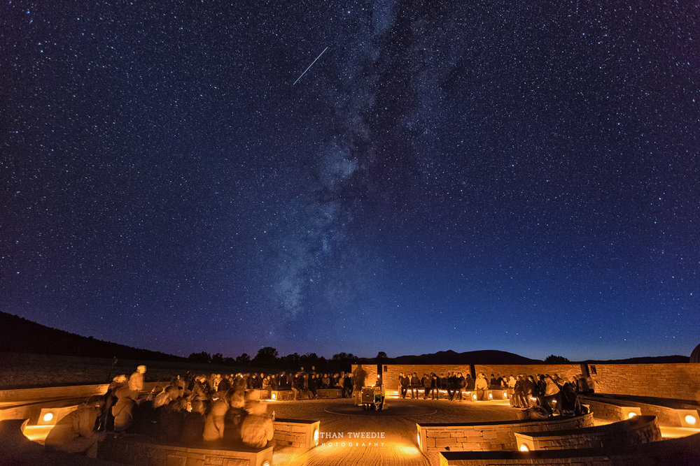 Star Party at McDonald Observatory, Ft. Davis Texas.  Photo Credit  Ethan Tweedie Photography