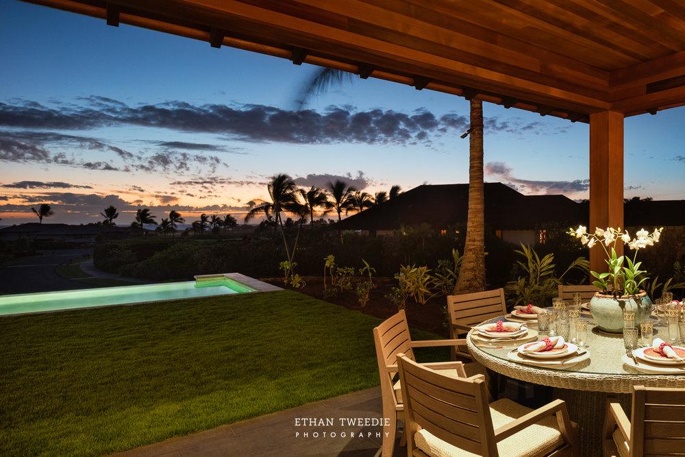 Indoor/Outdoor Living at its best. Ethan Tweedie Photography