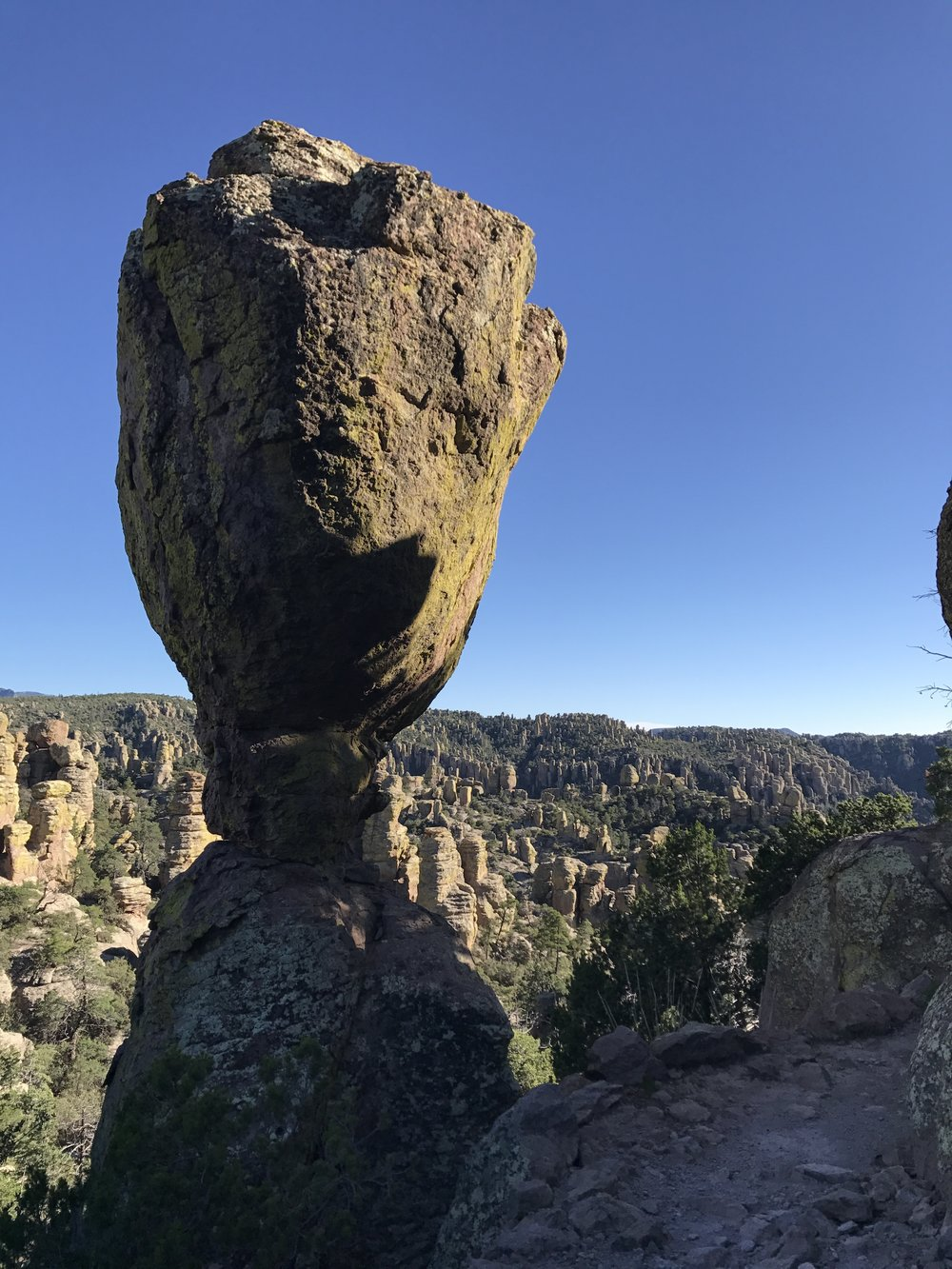 Balanced Rock on the Echo Canyon Trail