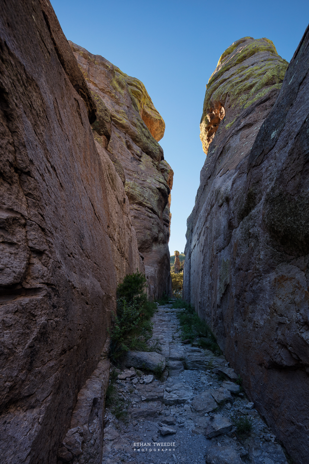 Wall Street on the Echo Canyon Loop
