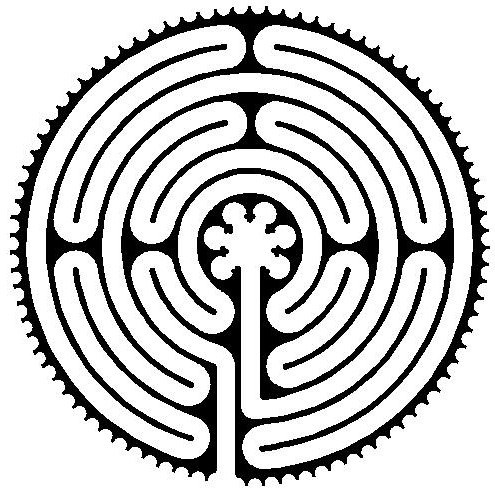 labyrinth the plymouth church in framingham Saint Theodore Chartres Cathedral the plymouth church in framingham